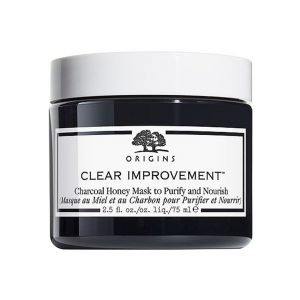 Origins Clear Improvement Charcoal Honey Mask To Purify & Nourish-0
