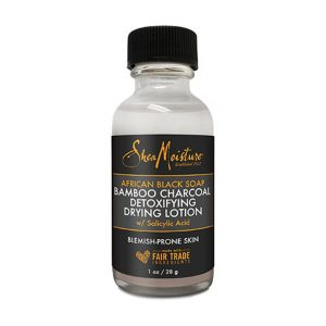 SheaMoisture African Black Soap & Bamboo Charcoal Drying Lotion-0