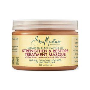 SheaMoisture Jamaican Black Castor Oil Strengthen & Restore Masque -0