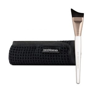 BareMinerals Skinsorials Mask Essentials Mask Smoothing Brush & Mask Removal Cloth-0