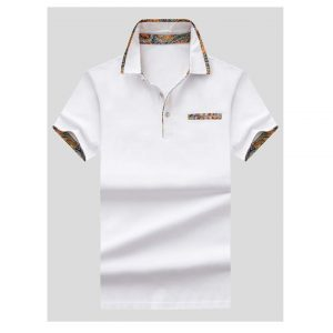 Men Plain Polo Shirt-0