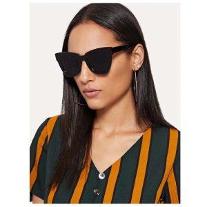 Flat Lens Sunglasses-0