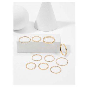 Slim Ring Set 10pcs -0