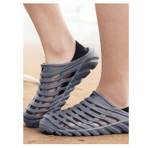 Men Slip On Caged Sandals -0