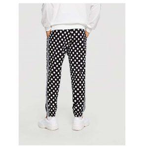 SHEIN Men Slant Pocket Polka Dot Pants -0