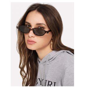 Leopard Frame Tinted Lens Sunglasses -0