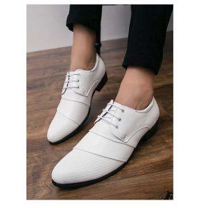 Men Lace Up Dress Shoes-0