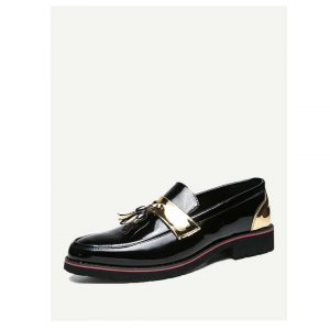 Men Tassel Decor Loafers-0