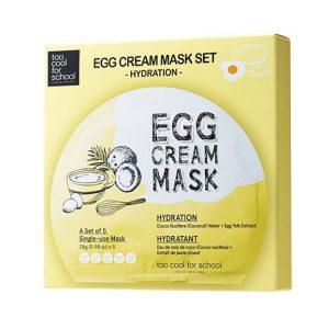 Egg Cream Mask Hydration Set-0