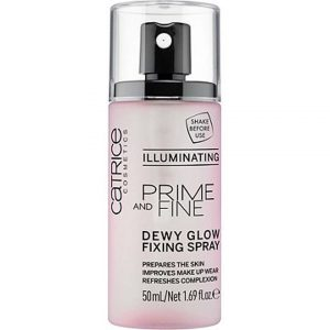 Prime And Fine Dewy Glow Finish Spray - Illuminating-0