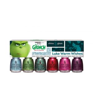 The Grinch Nail Lacquer Mini 6-Pack-0