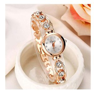 Watch, Womens Watch, Fashion Stainless Steel Analog Quartz Wrist Watch Retro Exquisite Luxury classic Bracelet Casual business Watches For Ladies Teen Girls -0
