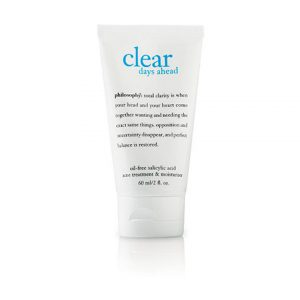 Philosophy Clear Days Ahead Oil-Free Salicylic Acid Acne Treatment & Moisturizer-0