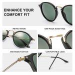 GAMT John Lennon Glasses Quavo Steampunk Round Sunglasses Circle Metal Frame Eyewear for Men and Women -4167