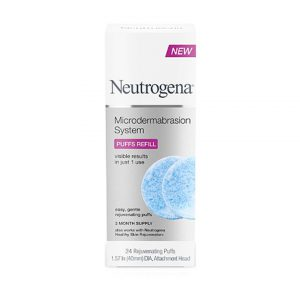 Neutrogena Microdermabrasion System Puff Refills-0