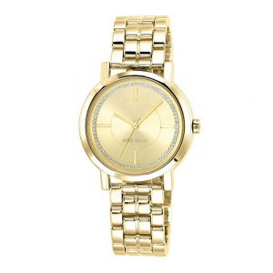 Nine West Women's Glitter-Accented Bracelet Watch-0