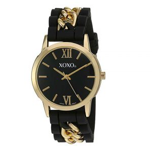 XOXO Women's Quartz Metal and Rubber Watch-0