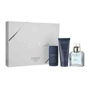 Eternity Aqua For Men By Calvin Klein Gift Set-0