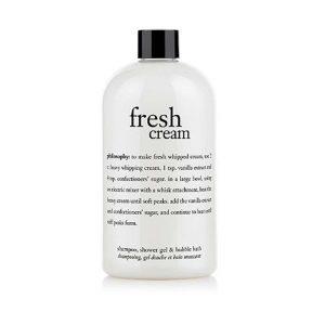 Fresh Cream Shampoo, Shower Gel & Bubble Bath-0