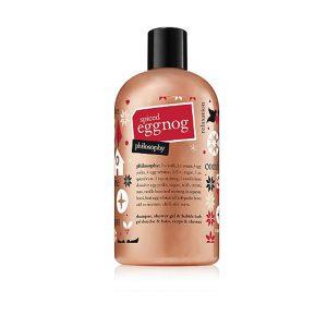 Spiced Eggnog Shampoo, Shower Gel & Bubble Bath-0