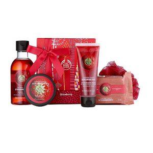 Strawberry Body Care Esssentials Gift-0