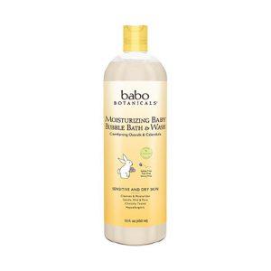 Babo Botanicals Online Only Oatmilk Calendula Moisturizing Bubble Bath and Wash-0