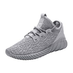 Hetohec Sport Baseball Shoes Knitted Fashion Outdoor Sneakers Lightweight Gym Athletic Shoe Men Trail Workout -0