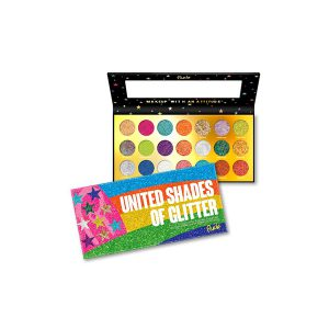 Rude cosmetics United Shades of Glitter - 21 Pressed Glitter Palette-0