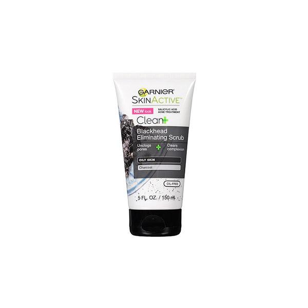 Garnier SkinActive Clean+ Blackhead Eliminating Scrub-0