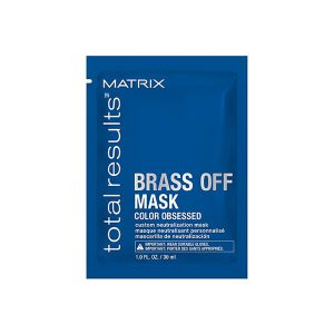 Travel Size Total Results Brass Off Custom Neutralization Hair Mask-0