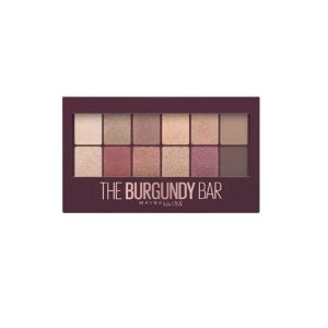 Maybelline The Burgundy Bar Eyeshadow Palette Makeup -0