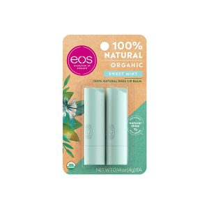 eos organic sweet mint stick lip balm 2-pack-0