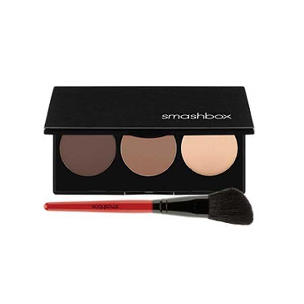 Step-By-Step Contour Highlighter & Bronzer Face Palette Kit