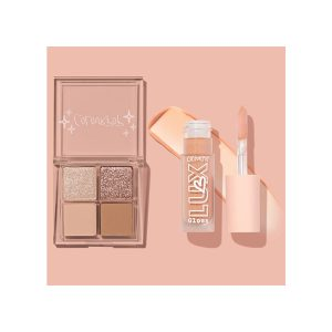 eyeshadow, lipstick
