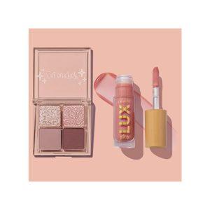 eyeshadow, lip gloss